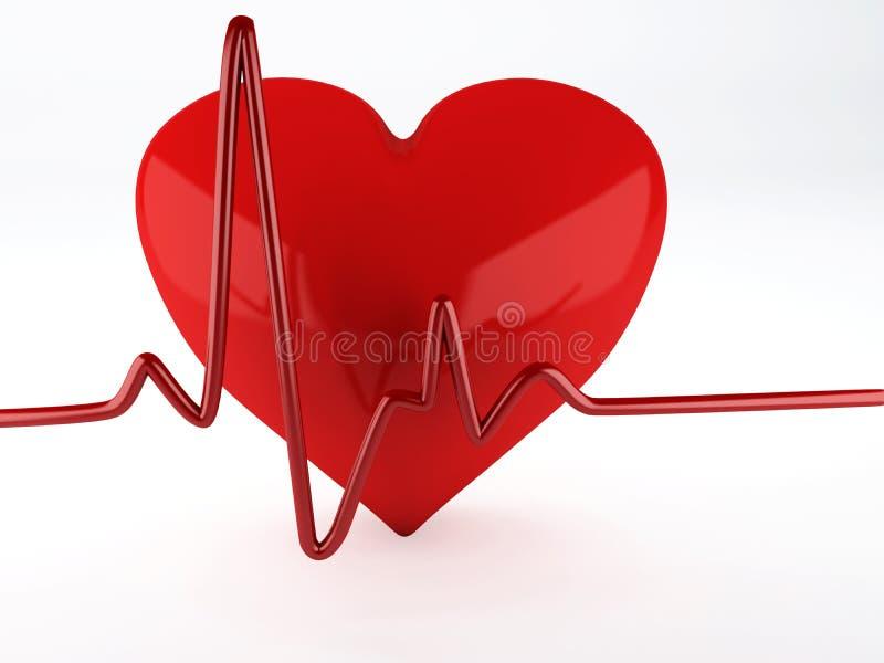 Coração da saúde ilustração stock