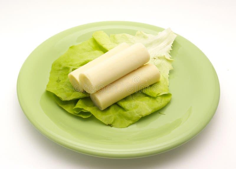 Coração da salada da palma fotos de stock royalty free