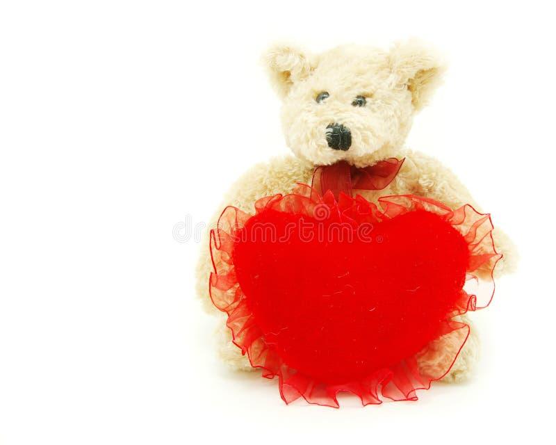 Download Coração Da Terra Arrendada Do Urso Foto de Stock - Imagem de friendship, matrizes: 12806256