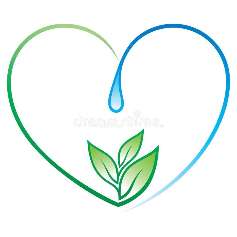 Coração da vida ilustração do vetor