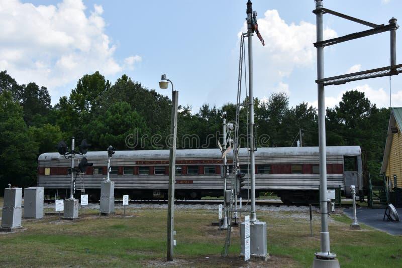 Coração de Dixie Railroad Museum em Alabama imagem de stock