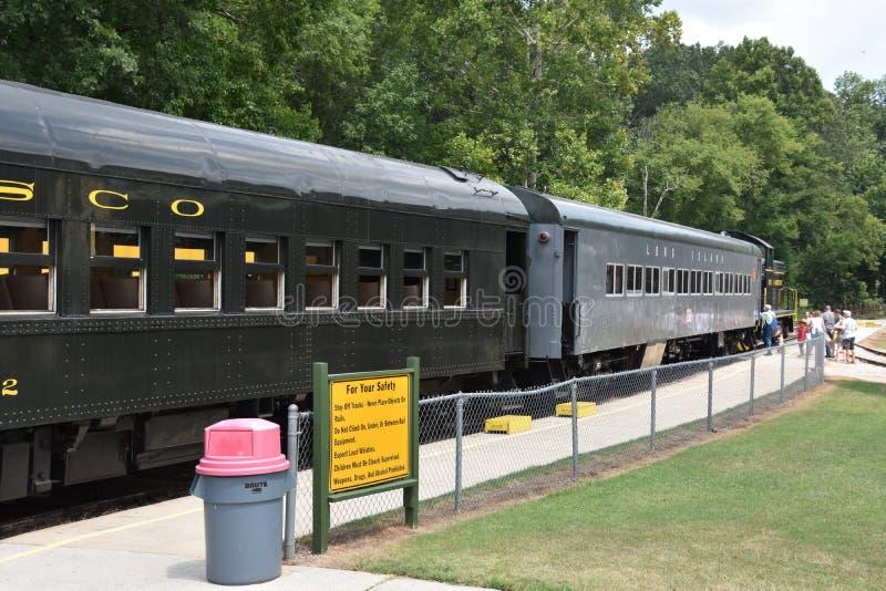 Coração de Dixie Railroad Museum em Alabama fotografia de stock