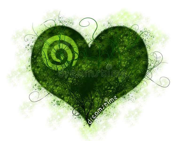 Coração de Dreamstime ilustração do vetor