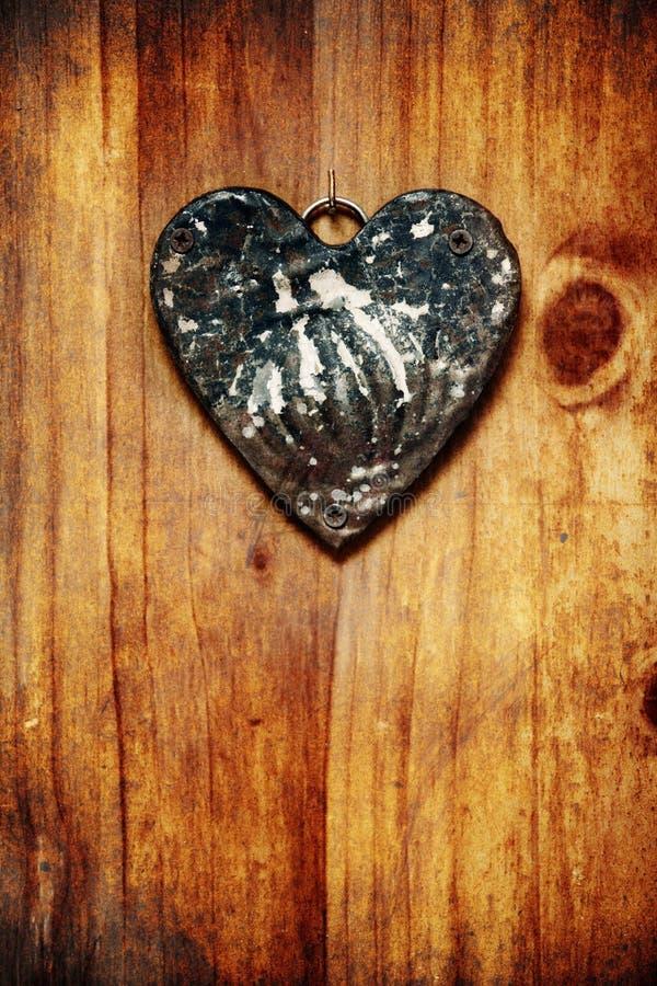 Coração de Grunge imagens de stock
