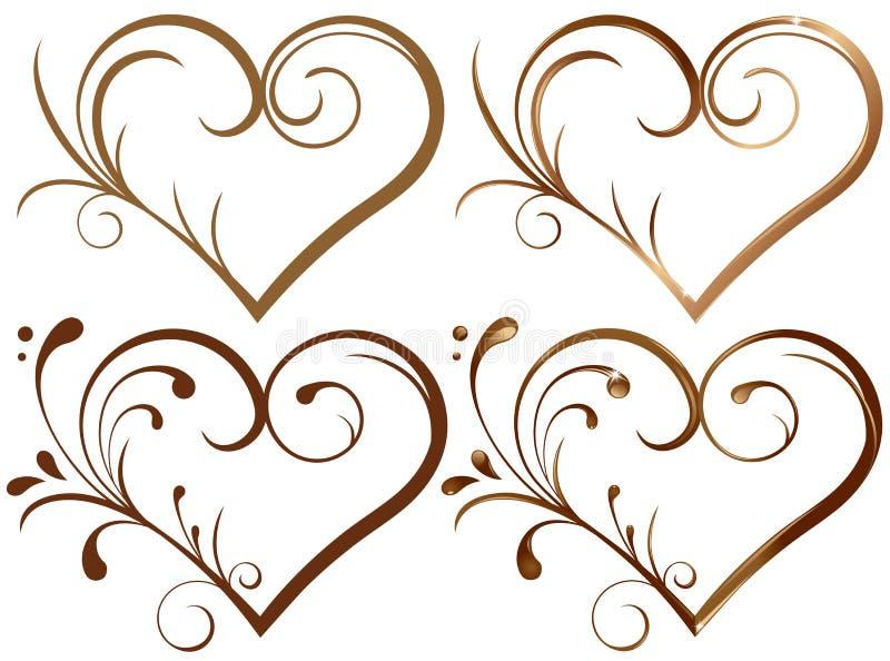 Coração de Lase ilustração royalty free