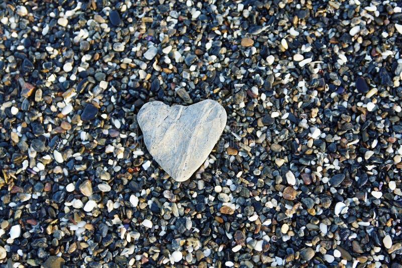 Coração de pedra imagens de stock