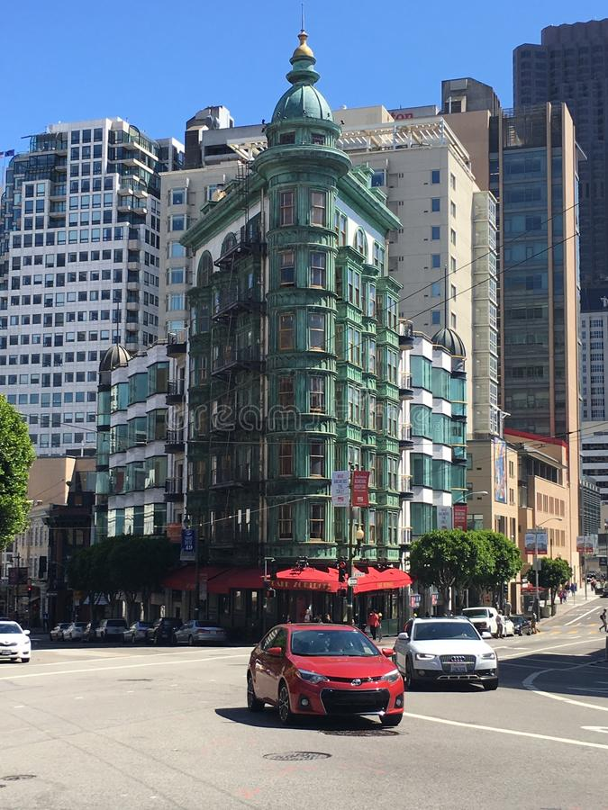 Coração de San Francisco fotos de stock
