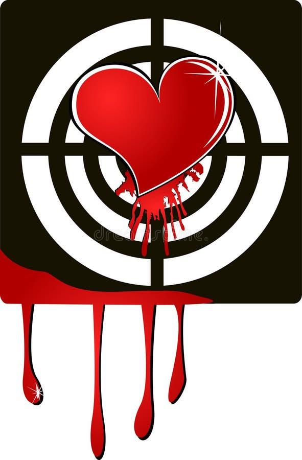 Coração do alvo