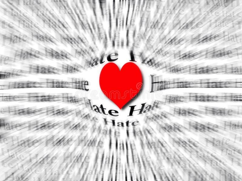 Coração do amor foto de stock royalty free