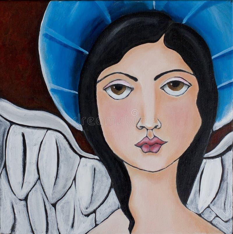 Coração do anjo ilustração do vetor