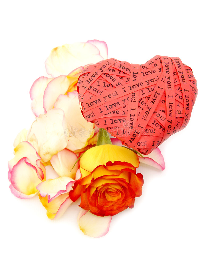 Coração do dia do Valentim fotografia de stock