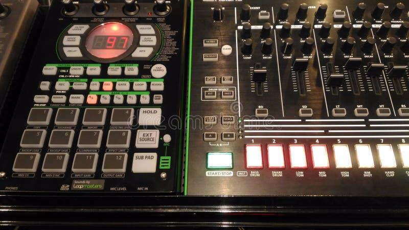 Coração do DJ imagens de stock