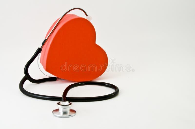 Coração do doutor imagens de stock royalty free