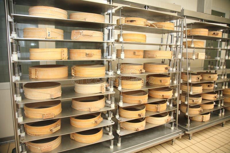Coração do queijo de Fassa imagem de stock royalty free