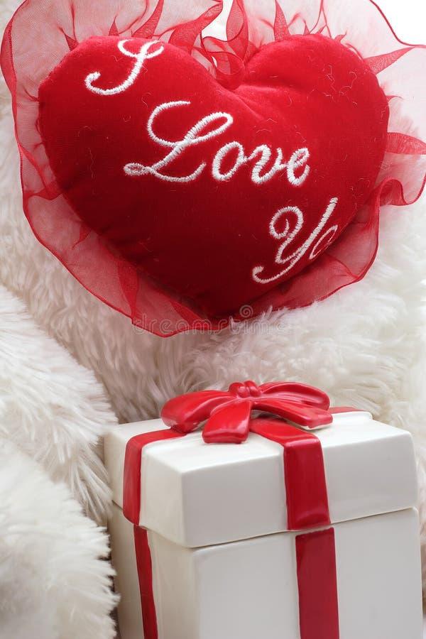 Coração do Valentim imagens de stock royalty free