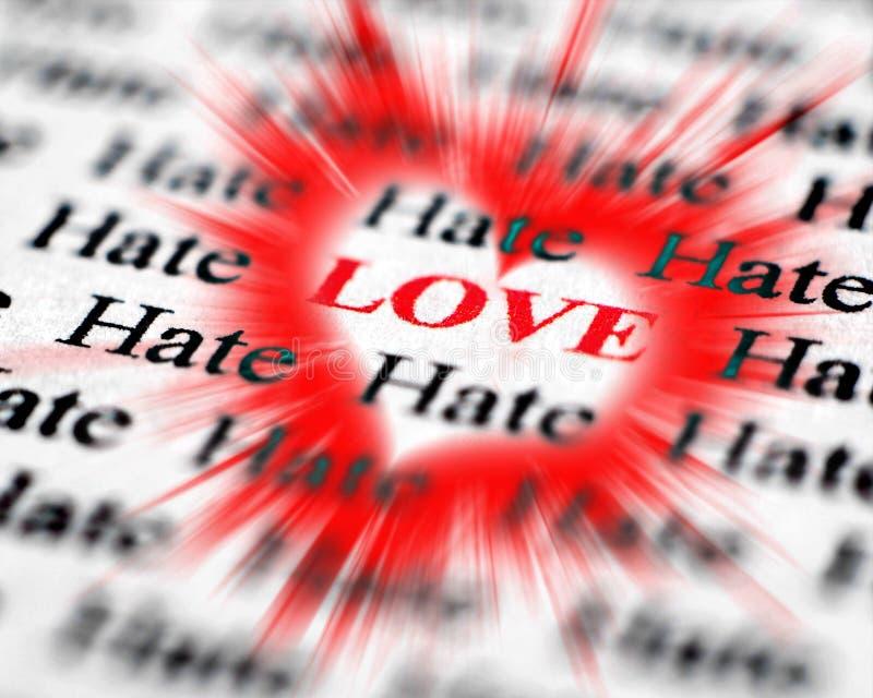 Coração do Valentim no preto fotos de stock
