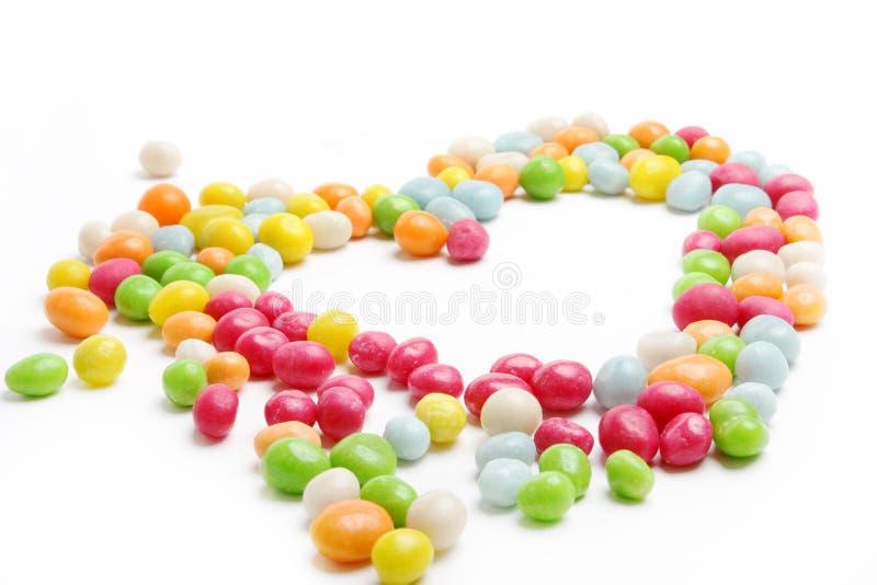 Coração dos doces imagens de stock royalty free