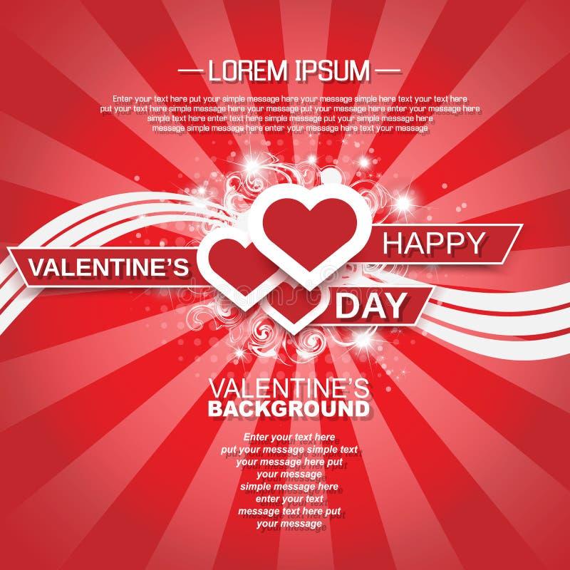 Download Coração E Amor Do Dia De Valentim Ilustração do Vetor - Ilustração de letra, festivity: 65575044