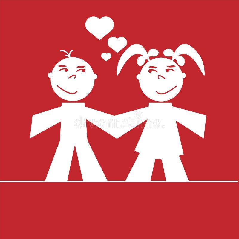 Download Coração E Amor Do Dia De Valentim Ilustração Stock - Ilustração de amor, coleção: 65575287