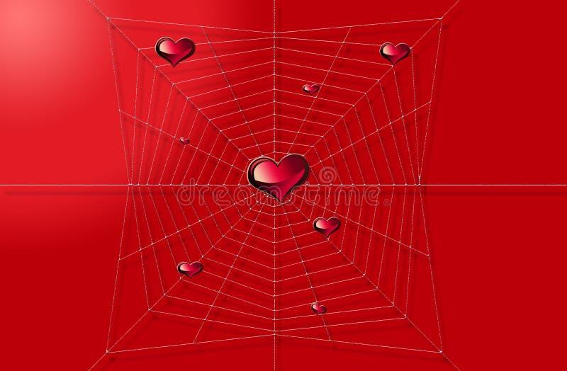 Download Coração e Web ilustração stock. Ilustração de gráfico - 12810155