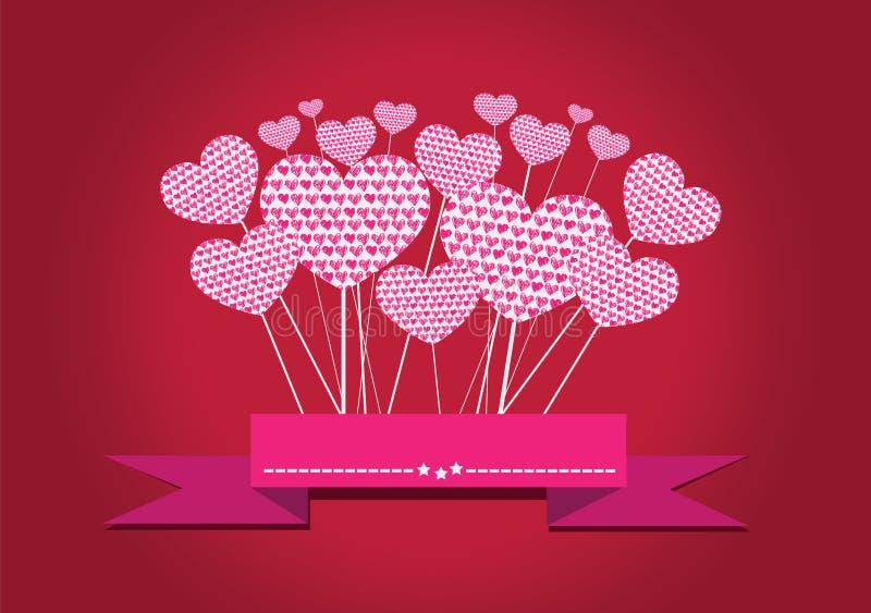 Coração para o dia de Valentim ilustração stock