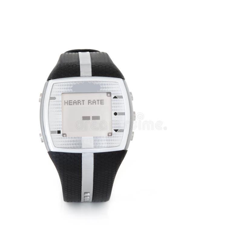 Coração Rate Monitor Watch foto de stock