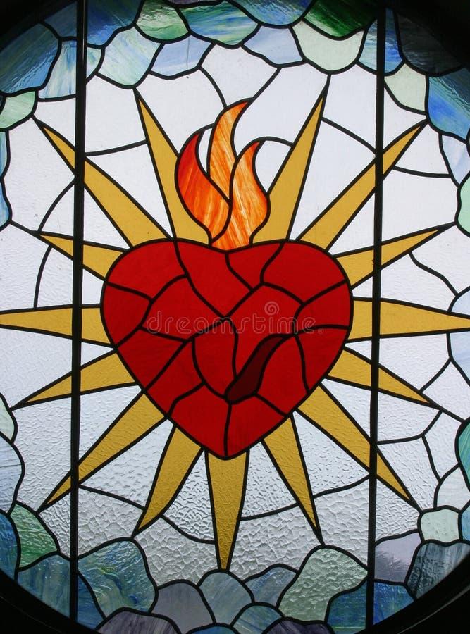 Coração sagrado de Jesus fotografia de stock royalty free