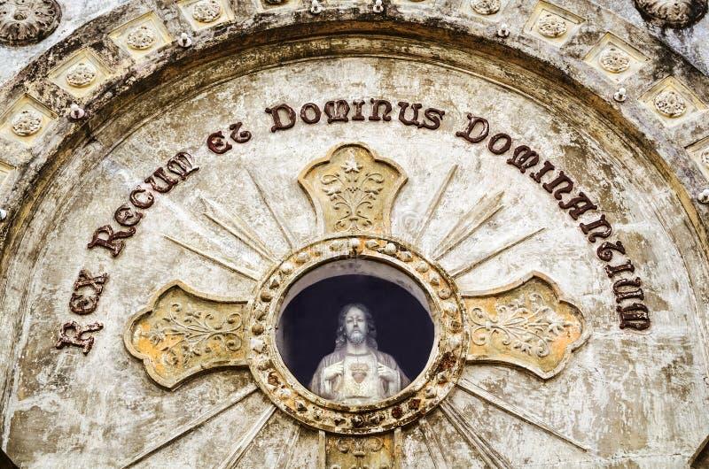Coração sagrado de Jesus imagens de stock royalty free