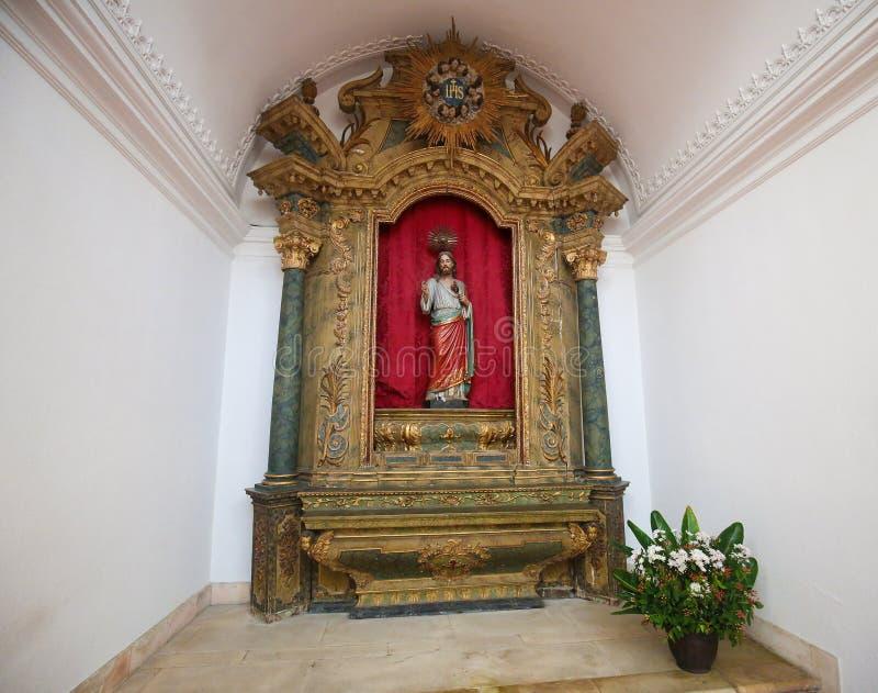 Coração sagrado de Jesus, catedral de Aveiro, região de Centro, Portu fotos de stock