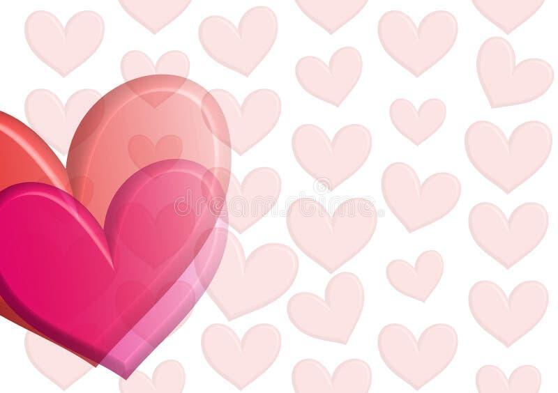 Download Corações do desejo ilustração stock. Ilustração de valentine - 525526