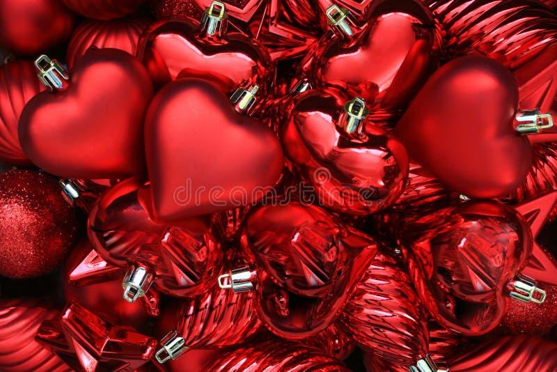 Corações Do Dia Dos Valentim. Foto de Stock Royalty Free