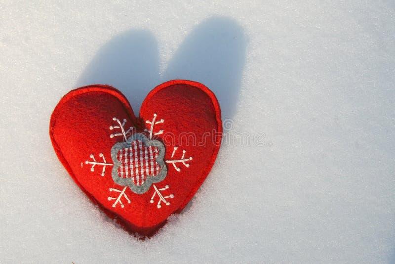 Corações do Natal imagens de stock royalty free