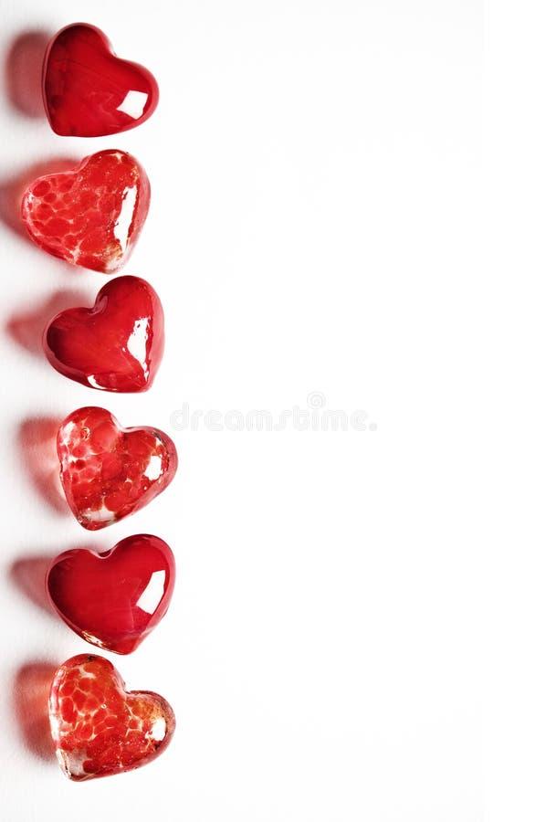 Corações do Valentim fotografia de stock royalty free