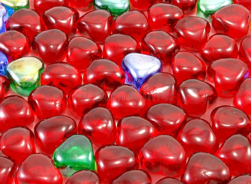 Download Corações do Valentim foto de stock. Imagem de adoration - 60880