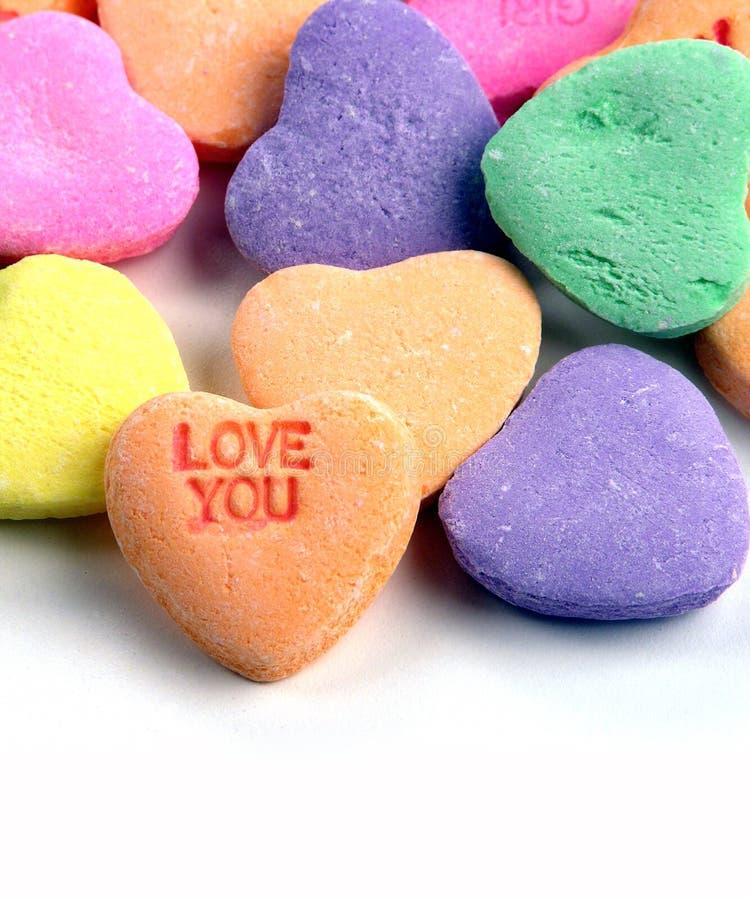 Download Corações dos doces imagem de stock. Imagem de deleite, coração - 57653
