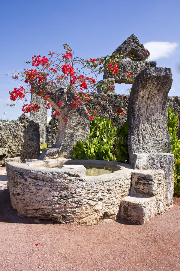 Coral Castle fotografie stock