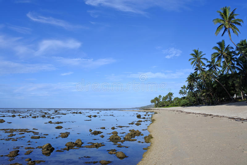 Coral Coast Fiji royalty-vrije stock afbeeldingen