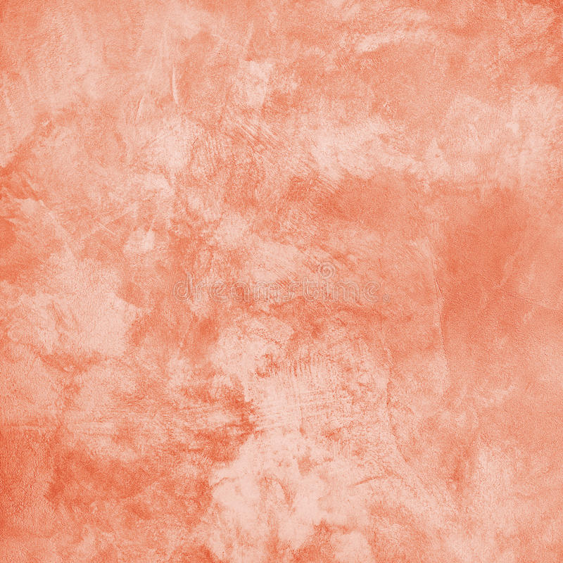 Coral Handmade Embossed Decorative Paper Background. royalty free stock photography