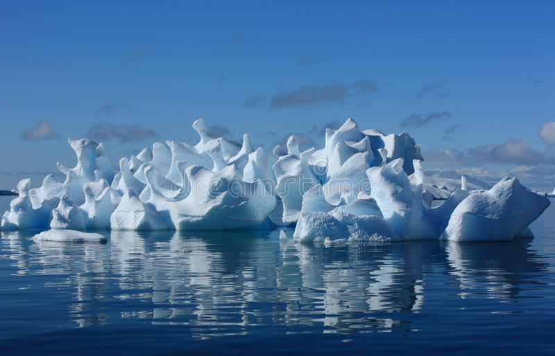 Coral Iceberg Royalty Free Stock Photography