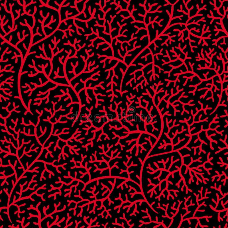 Coral (papel pintado inconsútil del vector) libre illustration