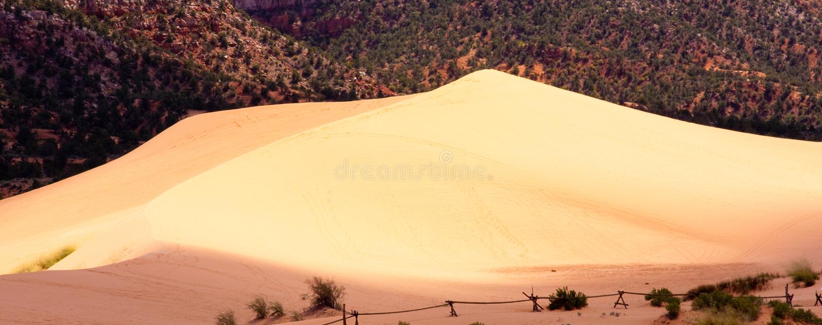 Download Coral Pink Sand Dunes stock image. Image of outdoor, park - 11758935