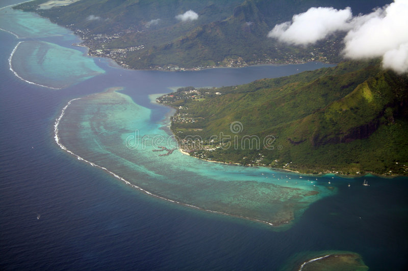 Download Coral reef stock photo. Image of clear, aerial, transport - 1148076