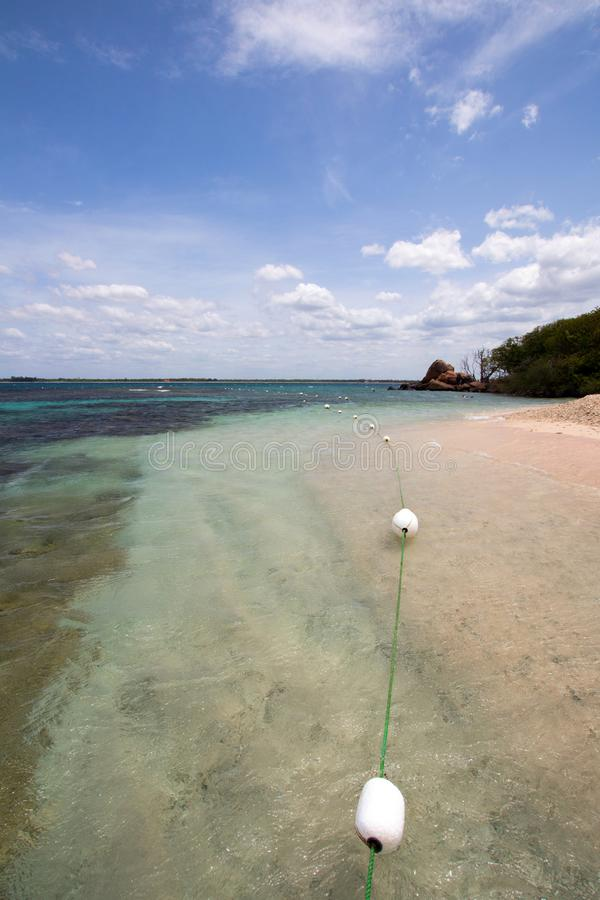 Coral Reef of Pigeon Island National Park off Nilaveli beach in Trincomalee Sri Lanka stock images