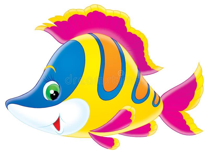 coral ryb royalty ilustracja