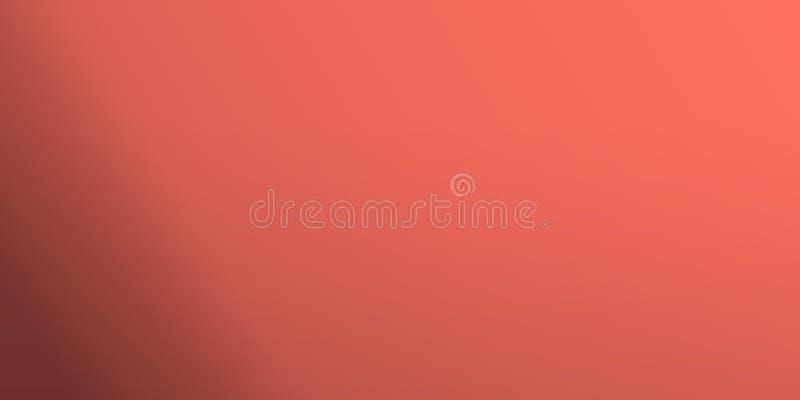 Coral, viver-coral, cor, coy2019, 16-1546, fundo abstrato, tendência, tendência, decisão, básica, estilo, social ilustração royalty free