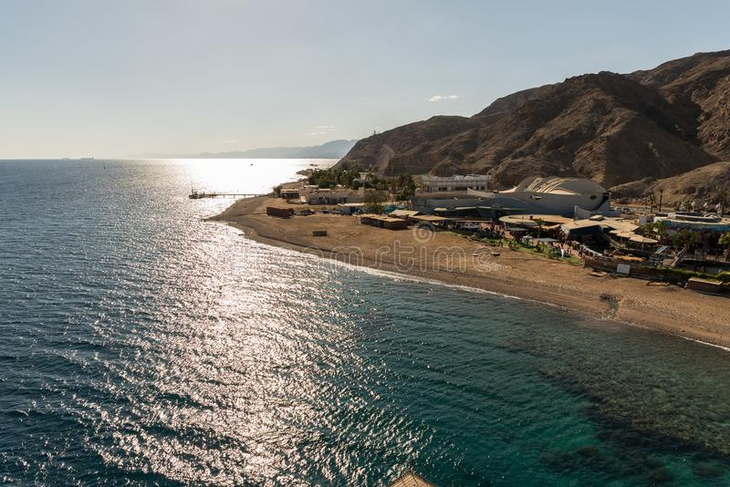 At Coral World Underwater Observatory in Eilat. Israel royalty free stock image
