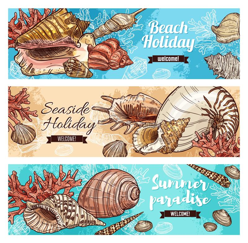 Free Corals And Marine Shells, Beach Mollusk Stock Image - 160625241