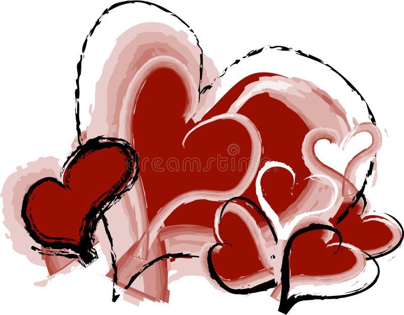 Download Corazón ilustración del vector. Ilustración de sensaciones - 1293444