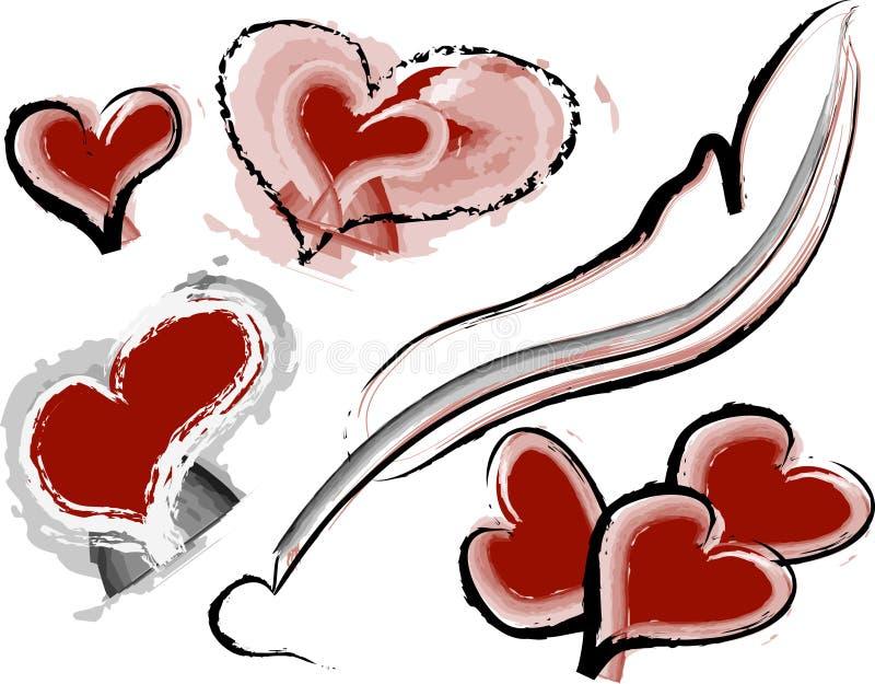 Download Corazón ilustración del vector. Ilustración de amor, corazón - 1293448