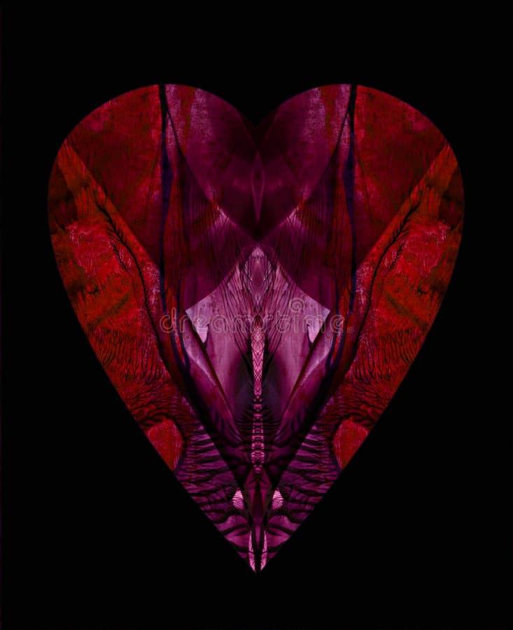 Corazón 3 stock de ilustración
